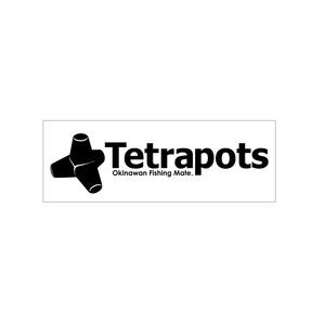 テトラポッツ(Tetrapots) カッティングステッカー TPG-006