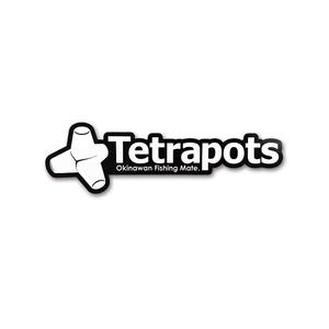 テトラポッツ(Tetrapots) Frame Logo Sticker TPG-037