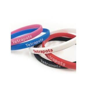 テトラポッツ(Tetrapots) TP Silicon Band スリム L レッド TPG-046