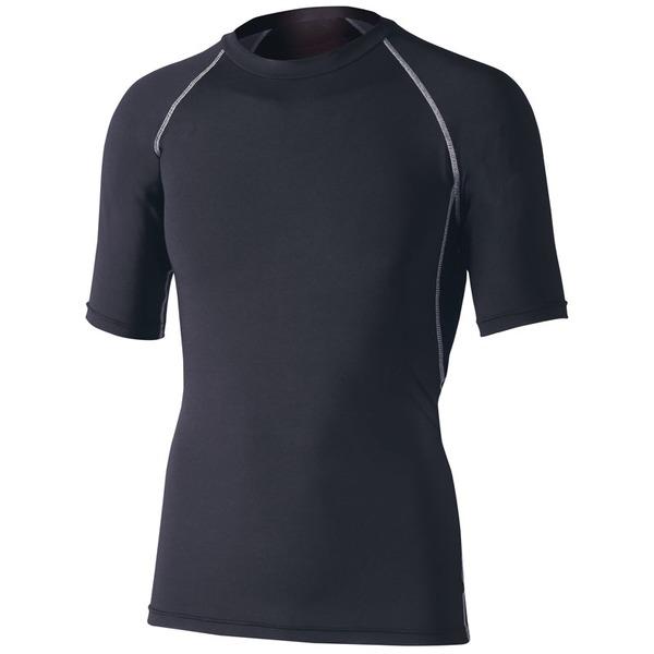 おたふく手袋(OTAFUKU) ストレッチ 半袖クルーネックシャツ JW-628 メンズ速乾性半袖Tシャツ