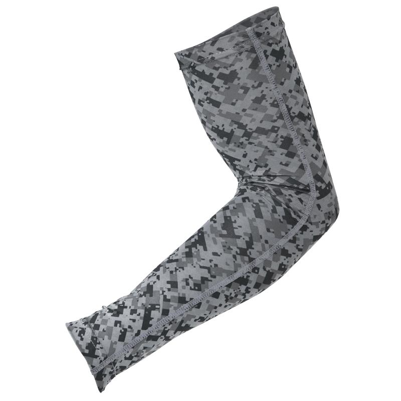 おたふく手袋(OTAFUKU) ストレッチ アームカバー L 53迷彩 JW-618
