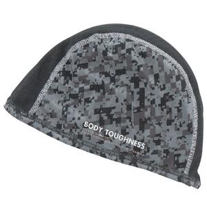 おたふく手袋(OTAFUKU) ストレッチ ヘッドキャップ フリー 迷彩 JW-611