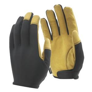 おたふく手袋(OTAFUKU) fubar マイクロイン サイドベルト M 黒×キャメル FB-51