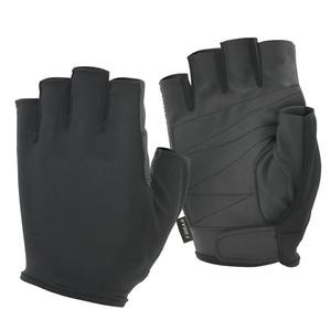 おたふく手袋(OTAFUKU) fubar シンセティックレザー 5フィンガーレス M 黒 FB-61