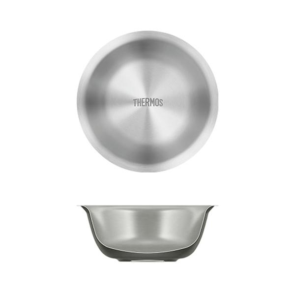 サーモス(THERMOS) 真空断熱ステンレスボウル ROT-001 ステンレス製お皿