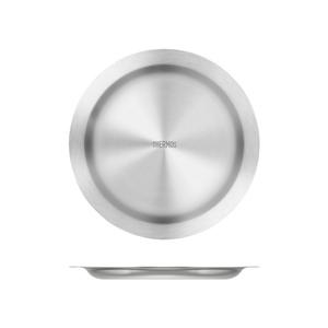 サーモス(THERMOS) ステンレスプレート ROT-004 ステンレス製お皿
