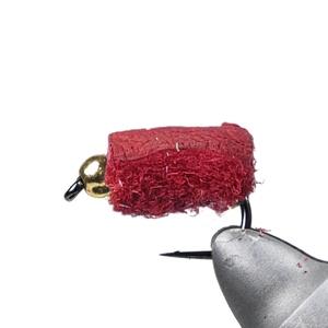 Bush Craft(ブッシュクラフト) ペレット#10ビーズ有り ブラッドレッド×5 80456