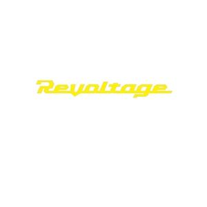 ジャッカル(JACKALL) リボルテージ カッティングステッカー M イエロー 104515008100