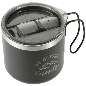 キャプテンスタッグ(CAPTAIN STAG) モンテ Wステンレスマグカップ用HULAップ ブラック UE-4912