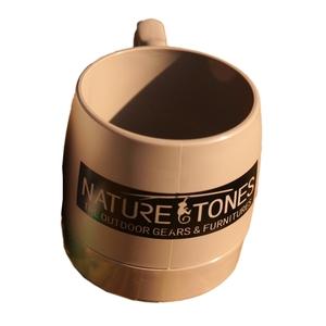 ネイチャートーンズ(NATURE TONES) DINEX NATURETONESロゴ マグカップ 240ml グレー DI-NT-GR
