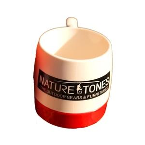 ネイチャートーンズ(NATURE TONES) DINEX NATURETONESロゴ マグカップ DI-NT-W/R