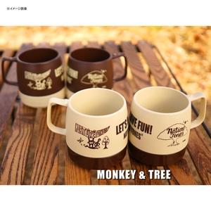 ネイチャートーンズ(NATURE TONES) NATURETONES×PIRIHANKO DINEX マグカップ(MONKEY&TREE) DI-PIMO-L/E