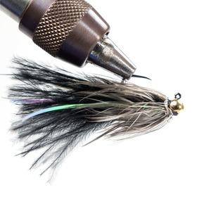 Bush Craft(ブッシュクラフト) サイドフラッシュバガー 3個入 #10/0.3g ブラック 82399