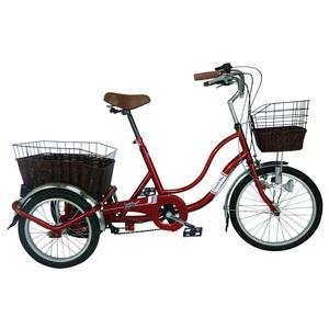 ミムゴ SWING CHARLIE ノーパンク三輪自転車G【クレジットカード決済のみ】 MG-TRW20NG