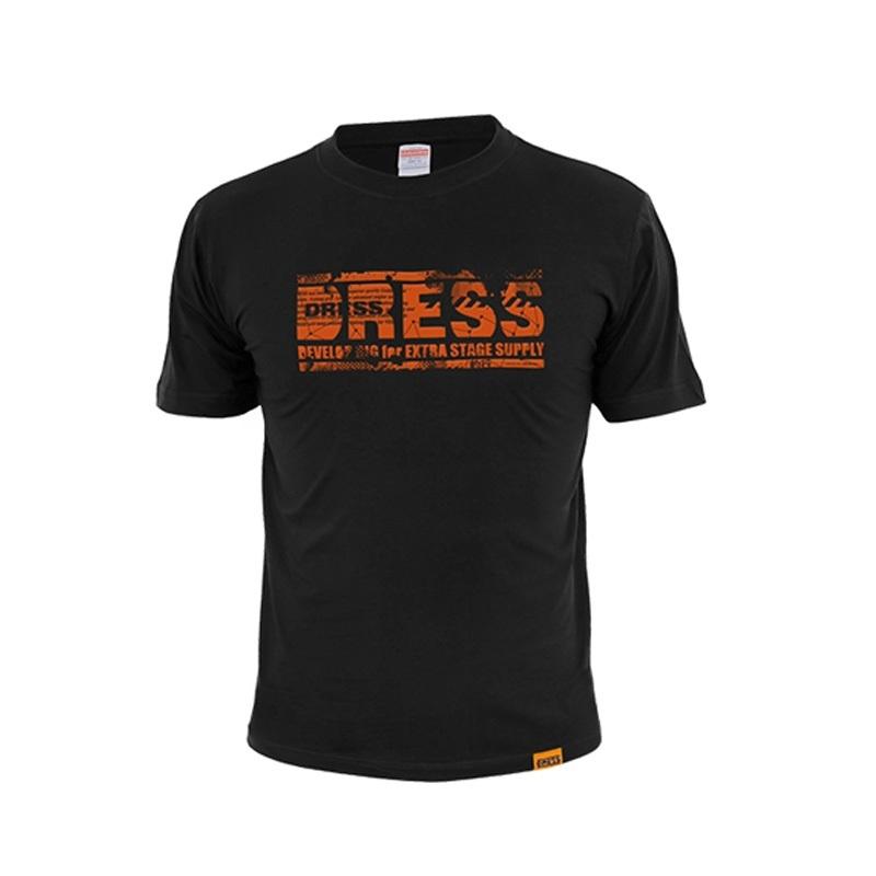 ドレス(DRESS) グランジロゴTシャツ M ブラック