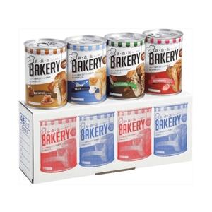 アスト株式会社 新・食・缶ベーカリー 4缶セット(イチゴ、ミルク、チョコレート、キャラメル 各1缶)