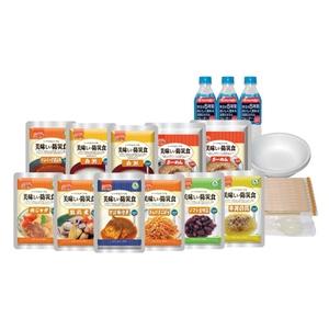 アルファフーズ(alpha-foods) 美味しい防災食スペシャルセット(1人×2日分)保存水有り BS10