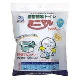 ケンユー ミニマルちゃん(3回分セット) 3MN-60 携帯トイレ