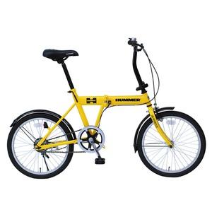 HUMMER(ハマー) 20インチ折畳み自転車【クレジットカード決済のみ】 MG-HM20G 20インチ変速付き折りたたみ自転車