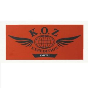スミス(SMITH LTD) K.O.Z ステッカー(12枚組)