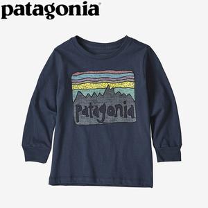 パタゴニア(patagonia) ベビー ロングスリーブ グラフィック オーガニック Tシャツ 60370