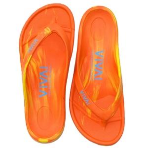 ビバアイランド(VIVA! ISLAND) VIVA ISLAND FLIP FLOP 39 Orange/Yellow V-810107