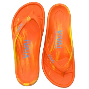 ビバアイランド(VIVA! ISLAND) VIVA ISLAND FLIP FLOP 43 Orange/Yellow V-810107