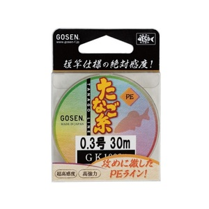 ゴーセン(GOSEN) PE たなご糸 30m GK1002
