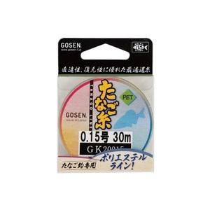 ゴーセン(GOSEN) PET たなご糸 30m GK20015