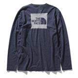 THE NORTH FACE(ザ・ノースフェイス) L/S SQUARE LOGO JACQUARD TEE Men's NT81907 メンズ長袖Tシャツ