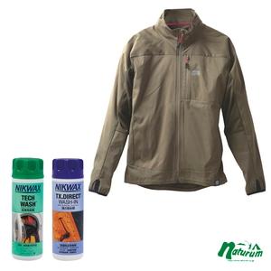 ナチュラム ウォーターレジスタント ジャケット +防水対策セット