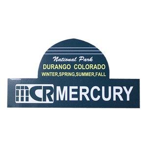 MERCURY(マーキュリー) ステッカー DURANGO ME045584