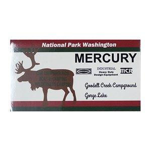 MERCURY(マーキュリー) ステッカー WASHINGTON ME045591