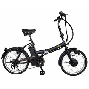 カイホウ(KAIHOU) SUISUI Street 20インチ電動アシスト折畳自転車 6段変速【クレジットカード決済のみ】 BM-AZ300-BK