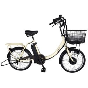 【送料無料】カイホウ(KAIHOU) SUISUI Sunny スモール20インチ電動アシスト折畳自転車【クレジットカード決済のみ】 20インチ IV(アイボリー) BM-TZ500-IV
