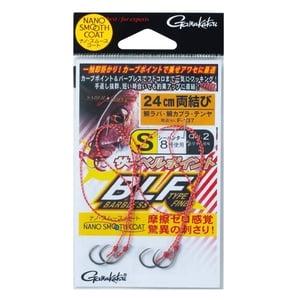 がまかつ(Gamakatsu) 糸付サーベルポイント バーブレス タイプF 両結び F137 3S 60138