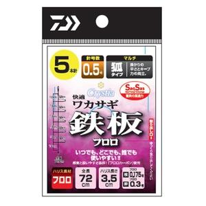 ダイワ(Daiwa) 快適ワカサギSS(サクサス) 鉄板フロロ・マルチ 07348177