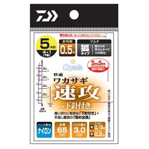 ダイワ(Daiwa) 快適ワカサギSS(サクサス) 速攻+下針付き・マルチ 07348241