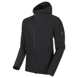 【送料無料】MAMMUT(マムート) Macun SO Hooded Jacket AF Men's M 0001(black) 1011-00790