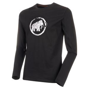 Mammut Logo Longsleeve Men's M 0001(black)