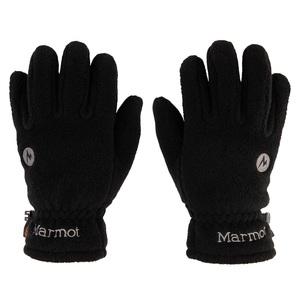 Marmot(マーモット) HEAT NAVIR Fleece Glove(ヒート ナビ フリース グローブ) L BK(ブラック) TOAOJD75