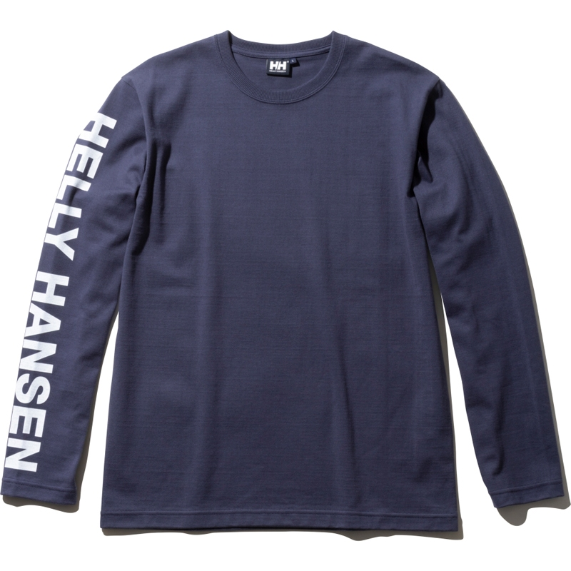 HELLY HANSEN(ヘリーハンセン) HE31958 L/S HH Letter Tee M HB