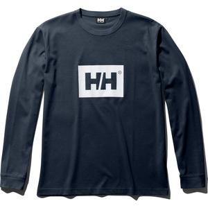 HE31960 L/S ソリッド ロゴ Tee L HB