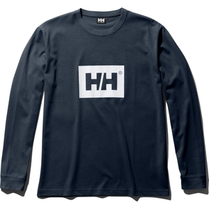 HELLY HANSEN(ヘリーハンセン) L/S SOLID LOGO TEE(ロングスリーブ ソリッド ロゴ ティー) HE31960
