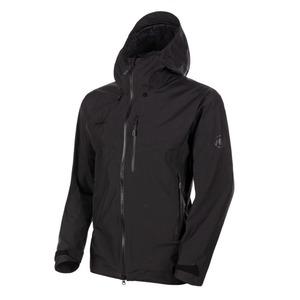 【送料無料】MAMMUT(マムート) Ayako Pro HS Hooded Jacket AF Men's M 0001(black) 1010-27550