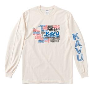KAVU(カブー) アドレスマップL/S Tee 19821131017005