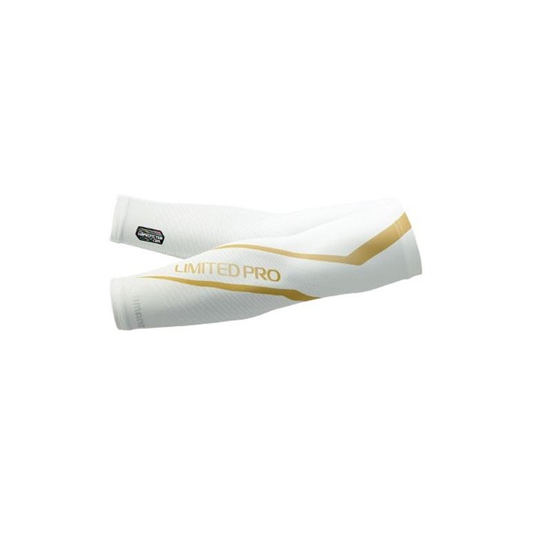 シマノ(SHIMANO) AC-077R サンプロテクション クールアームカバー リミテッドプロ フリー ホワイト 63095