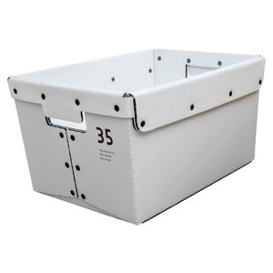 YOKA(ヨカ) GARAGE BOX クリア塗装 WHITE YK-GB35-WHT