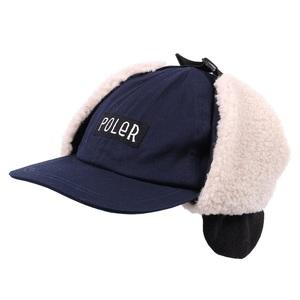 POLeR(ポーラー) FURRY FONT EARFLAP CAP 55100051-NVY