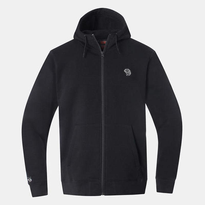 マウンテンハードウェア HardwearLogoFull ZipHoody(ハードウェアロゴ フルジップフーディ Men's M 010(Black) OM7441